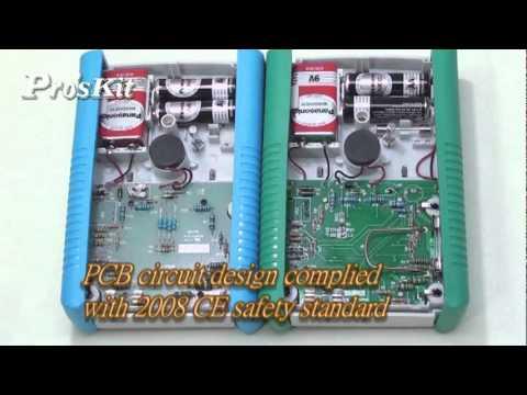 知名品牌寶工/宝工 Pro'sKit-MT-2017/MT-2018 Protective Function Analog Multimeter