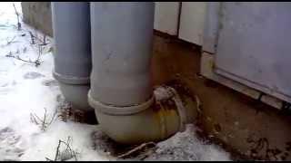 видео Оборудование гаража системой естественной вентиляции