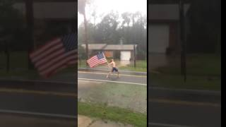 Murica ain't scared of no hurricane