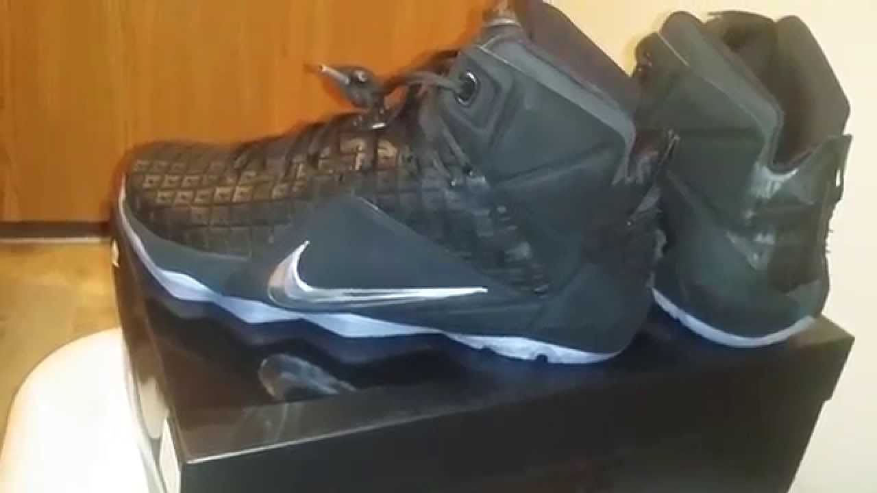 Lebron 12 rubber city review - YouTube c85096f72