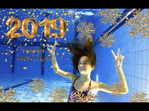 Carla Underwater Happy New Year to you all for 2019