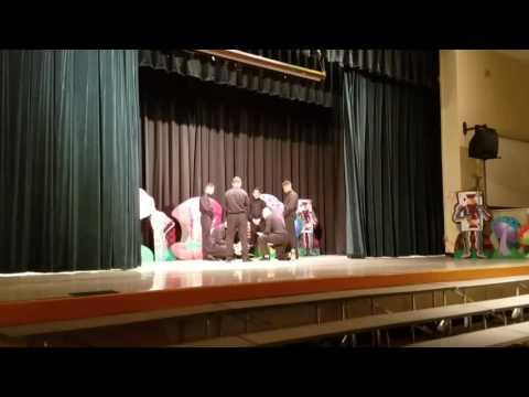 Palm Springs Middle School Hialeah 2017 Fashion Show Boys Dance
