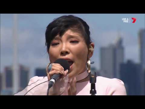 Dami Im - The Power Of The Dream - Melbourne Cup 2016