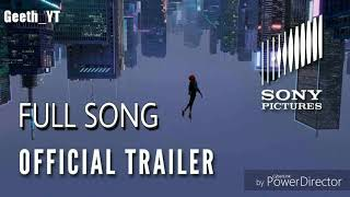 SPIDER-MAN : INTO THE SPIDER VERSE | SOUNDTRACK | WHERE I BELONG NOW