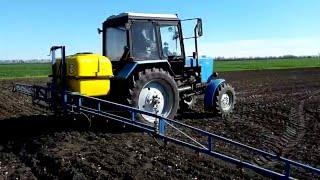 Трактор МТЗ 82.1 и опрыскиватель Polmark(Трактор МТЗ 82.1 и опрыскиватель Polmark https://youtu.be/OqHQnm3oOEc Трактор МТЗ 82.1 (Беларус) на сегодня один из более распро..., 2016-05-09T09:07:20.000Z)