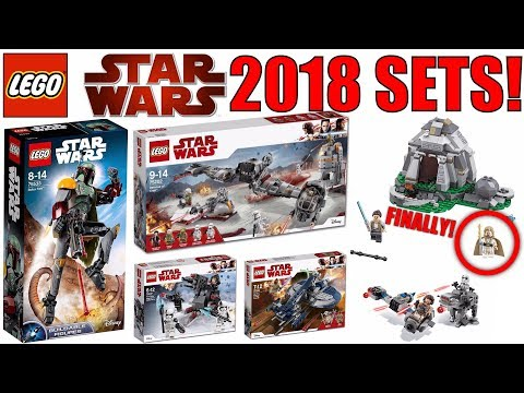 Star Wars 2018 Sets PICTURES! | Awesome NEW LEGO Star Wars Sets ...