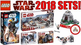 LEGO Star Wars 2018 Sets PICTURES! | Awesome NEW LEGO Star Wars Sets! | Analysis