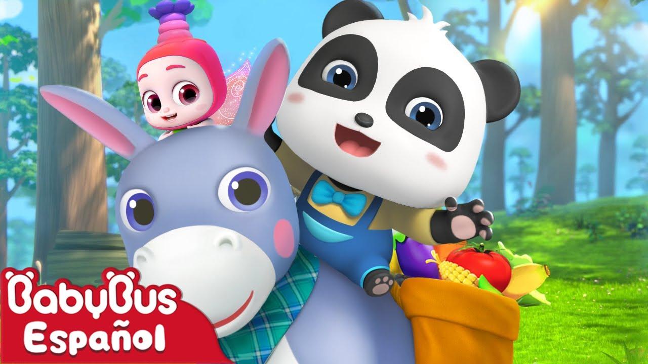 Mi Pequeño Burro | Canción Infantil | Video Para Niños | BabyBus Español