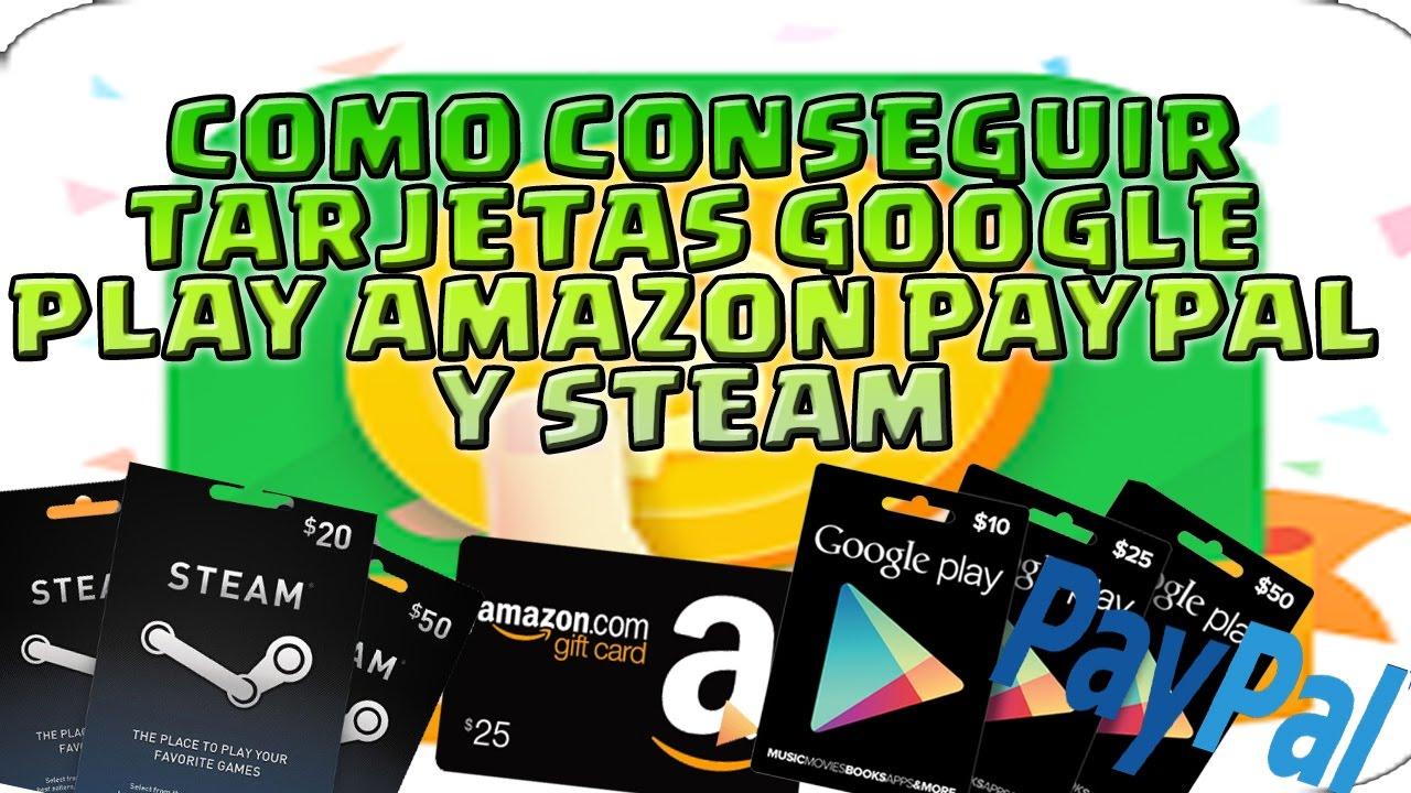 TARJETA PAIPAL EN AMAZON