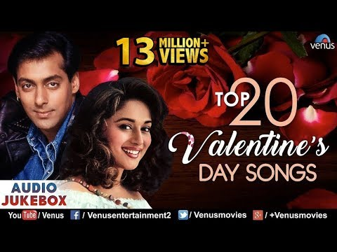Top 20 Valentine's Day Songs 2018 | Hindi Love Songs | JUKEBOX | Evergreen Bollywood Romantic Songs