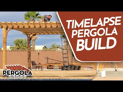 - How To Build A Pergola - YouTube