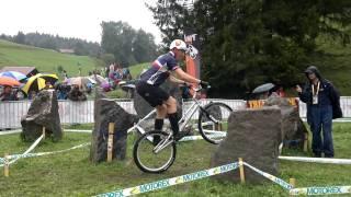 Marius Merger 2 Finale 26 Juniors Champery Championnats du monde 2011
