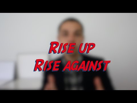 Rise up / Rise against - W40D1 - Daily Phrasal Verbs - Learn English online free video lessons