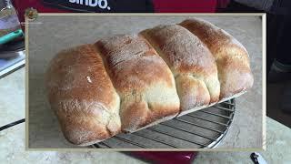 Хлеб выпекаю из белои муки Мой рецепт Заготовка Французская рубашка Форма процесс технология