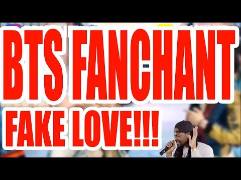 BTS FAKE LOVE FANCHANT PRACTICE | GUIDE | LYRICS