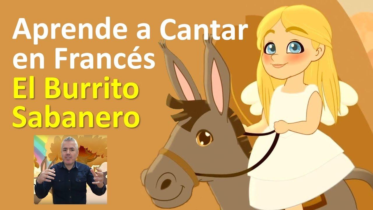 Aprende a cantar en francés El Burrito Sabanero / Clase de Francés con Nelson