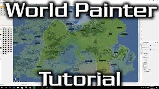 World Painter Tutorial - Creating a Map, Importing Images, Testing your map (Super Important!)
