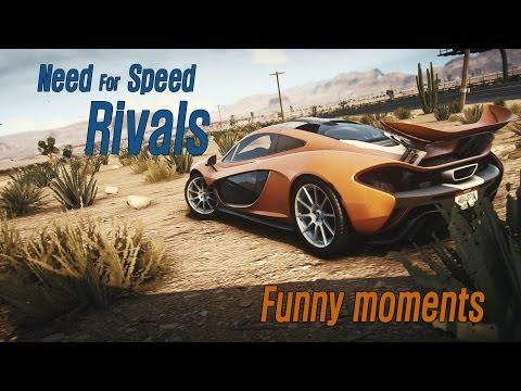 Need For Speed Rivals - Funny moments