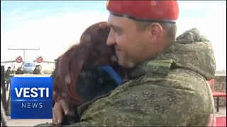 TOUCHING: Russian Pilots-Liberators of Syria Receive a Warm Welcome at Home