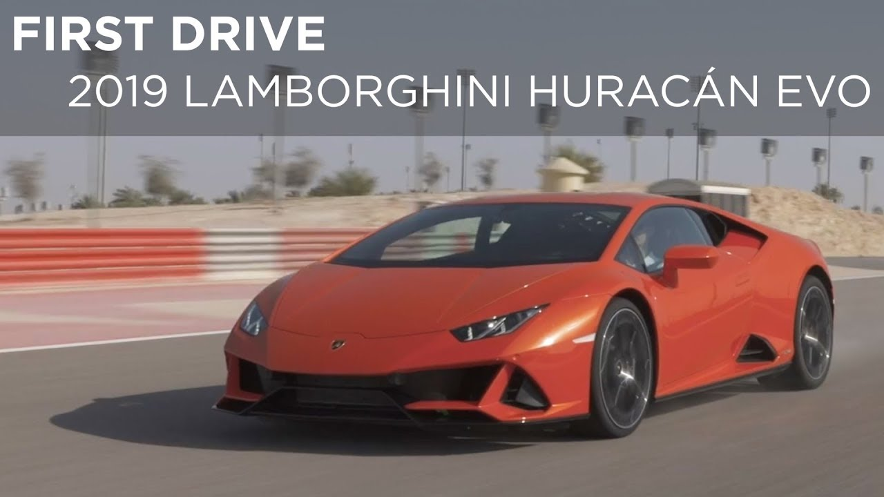 First Drive 2019 Lamborghini Huracan Evo Driving Ca Youtube