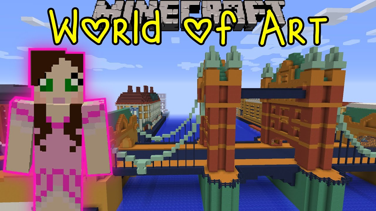 Minecraft world of art custom map part 3 youtube gumiabroncs