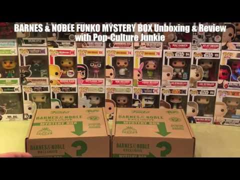 Barnes & Noble Funko Mystery Box Unboxing & Review July 2016