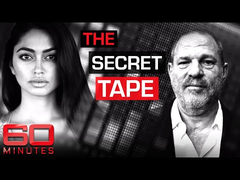 Ambra Battilana leaks damning audio of Weinstein pressuring her in hotel room | 60 Minutes Australia