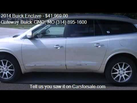 2014 Buick Enclave Leather for sale in Saint Louis  MO 63042   YouTube 2014 Buick Enclave Leather for sale in Saint Louis  MO 63042