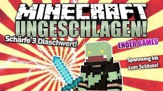 SCHÄRFE 3 DIA-SCHWERT Challenge! - Minecraft UNGESCHLAGEN #61 Ender Games | ungespielt