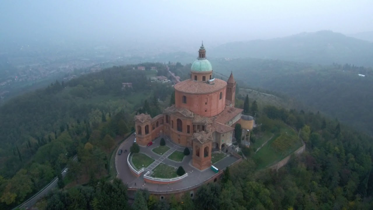 Santuario San Luca Bologna, Xiaomi mi drone 4k - YouTube