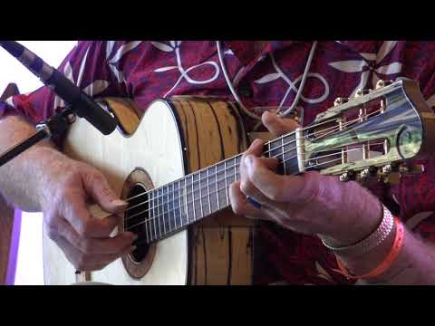 "Mark Hanson Performs ""Postscript"" on a Simon Dion Custom Steel String Guitar"