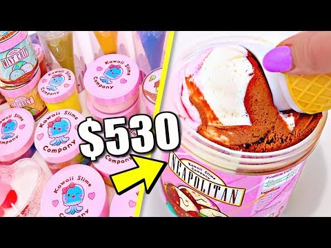 100% Honest Review of MY BIGGEST SLIME PURCHASE EVER! How Many Slimes DID I BUY??