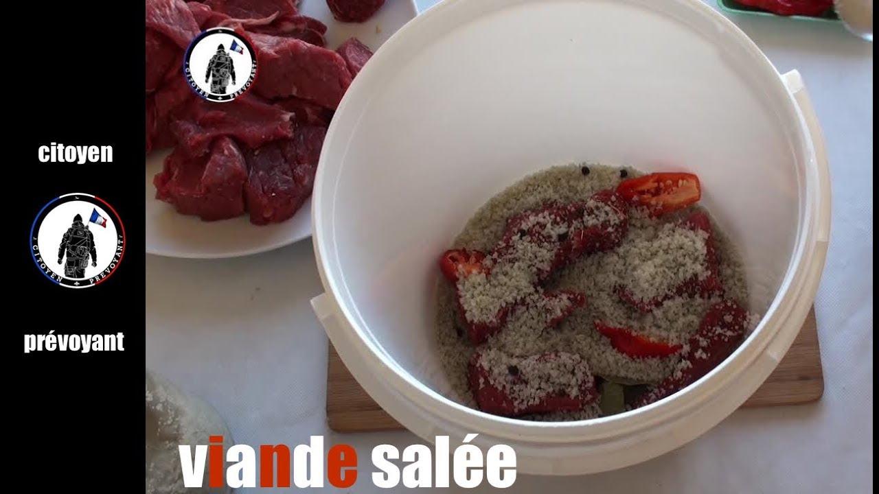 Comment faire de la viande sal e tr s facilement youtube - Comment couper de la viande congelee ...