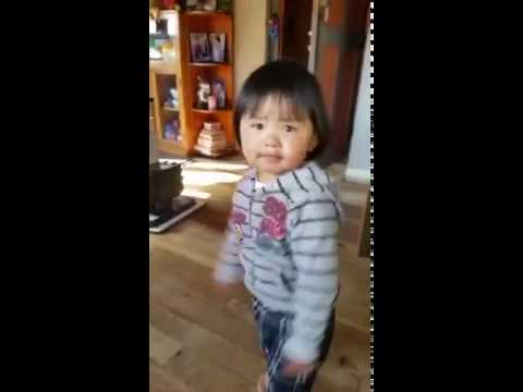 Kuzuzangpo La (Hi, Hello) from two years old girl from BHUTAN, the country of happiness.
