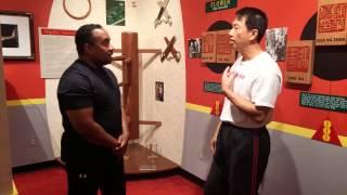 Chi Sao with Master Benny Meng