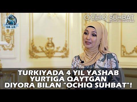 """Turkiyada 4 Yil Yashab Yurtiga Qaytgan Diyora Bilan """"Ochiq Suhbat""""!"""