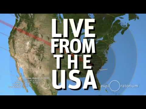 Total Solar Eclipse 2017: Live from the USA | Exploratorium