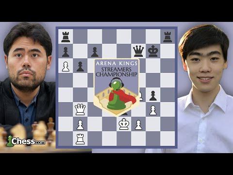 Hikaru Nakamura Battles Andrew Tang: Arena Kings Bullet Chess Tournament