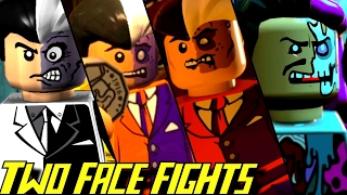 Evolution of Two-Face Battles in LEGO Batman Games (2008-2017)