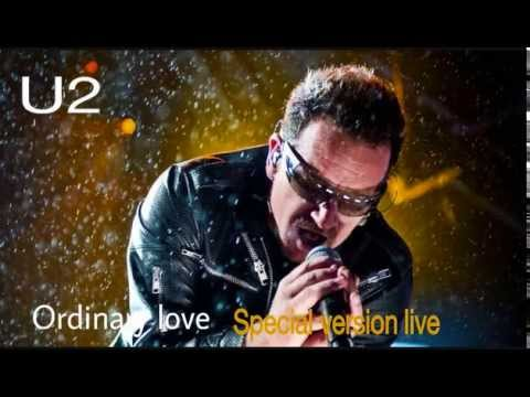 U2 - Ordinary Love - Special Version Live