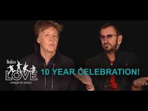 10th Anniversary Celebration | The Beatles LOVE by Cirque du Soleil