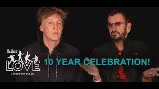 Video 10th Anniversary Celebration | The Beatles LOVE by Cirque du Soleil download MP3, 3GP, MP4, WEBM, AVI, FLV Agustus 2018