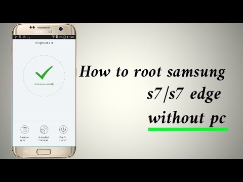Root Samsung s7 edge  Without pc