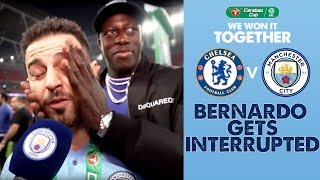 BERNARDO SILVA SPEAKS AFTER CARABAO CUP WIN! | CARABAO CUP WINNERS 2019!