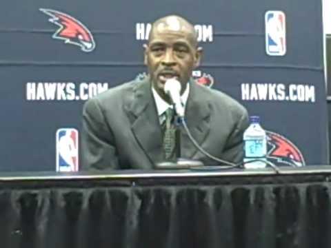 Atlanta Hawks Head Coach Larry Drew - Joe Johnson