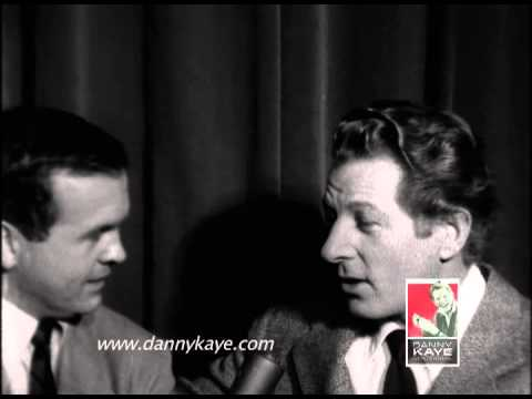 Danny Kaye talks about UNICEF in 1954 interview