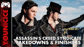 AC Syndicate Takedowns & Finishers | Finishing Moves | Kill Compilation | Kill Montage | Combat