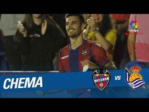 Golazo de Chema (1-0) Levante UD vs Real Sociedad