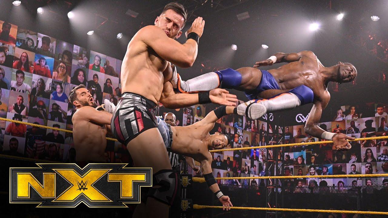Leon Ruff & Kushida vs. Johnny Gargano & Austin Theory: WWE NXT, Dec. 16, 2020