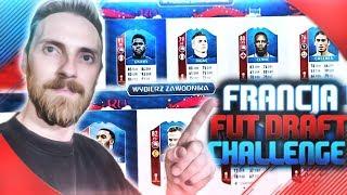 FRANCUSKI FUT DRAFT CHALLENGE *takiego jeszcze nie miałem* FIFA 18